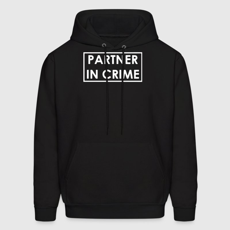 Partner In Crime - Men's Hoodie
