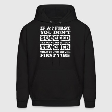 Teach Success Tee - Men's Hoodie