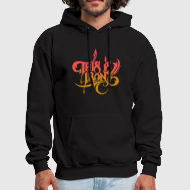 Irony This is irony - Men's Hoodie