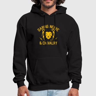 DARING NERVE AND CHIVALRY - Men's Hoodie