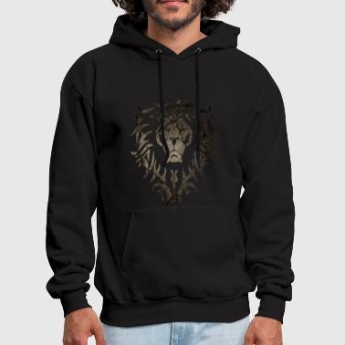 Alliance Alliance White Grunge - Men's Hoodie