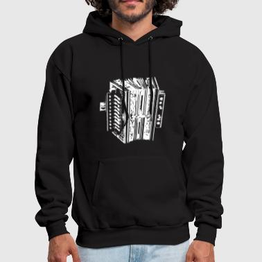 Accordion Instrument - Men's Hoodie