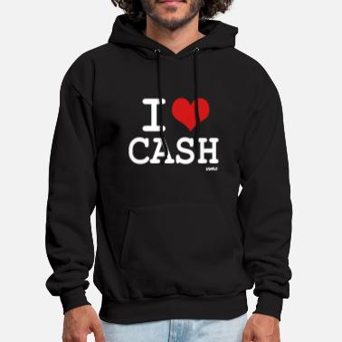 Cash Money i love cash money by wam - Men's Hoodie