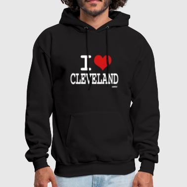 i love cleveland by wam - Men's Hoodie