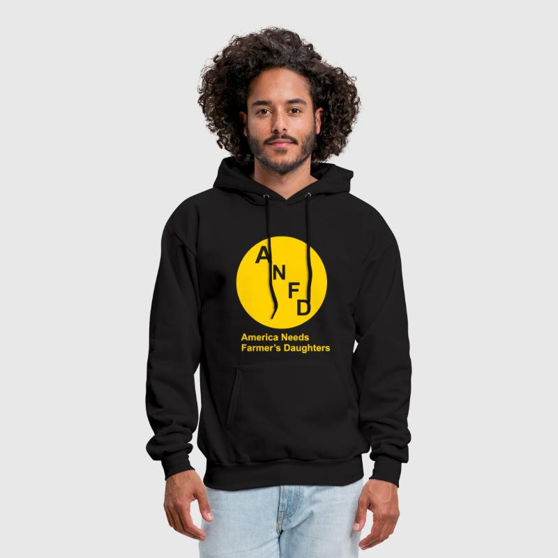 America Needs Farmer's Daughters - Men's Hoodie