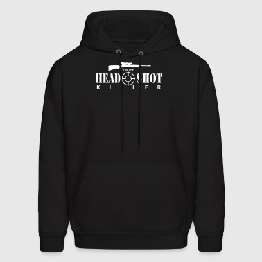 The Headshot Killer Sniper - Men's Hoodie