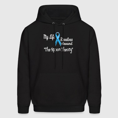 The Spoon Theory Design for Adrenal Awareness  - Men's Hoodie