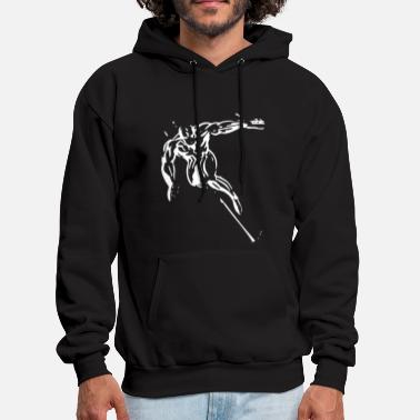 Silver The Silver Surfer - Men's Hoodie