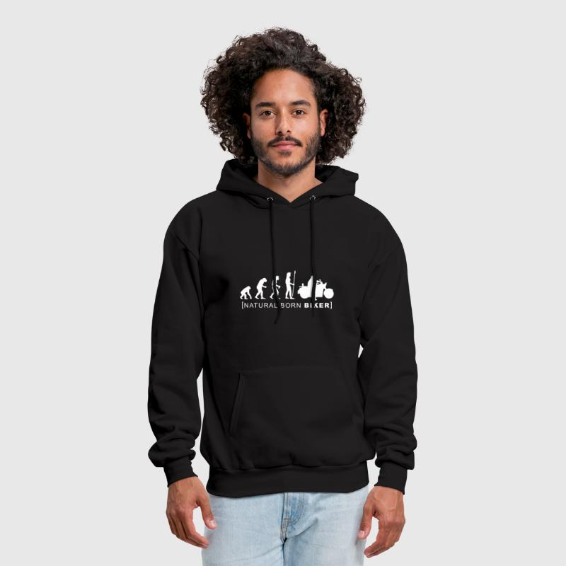 natural born biker - Men's Hoodie