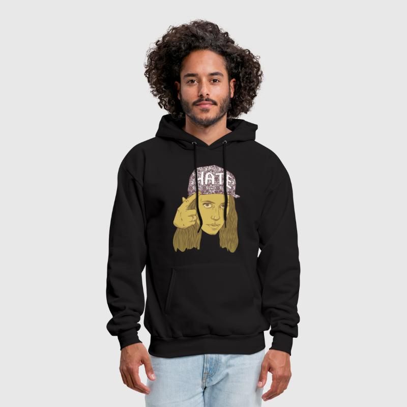 h3h3production hate hat - Men's Hoodie