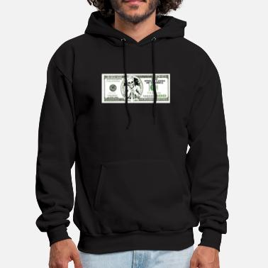 Dollar sarcastic 100 dollars bill - Men's Hoodie