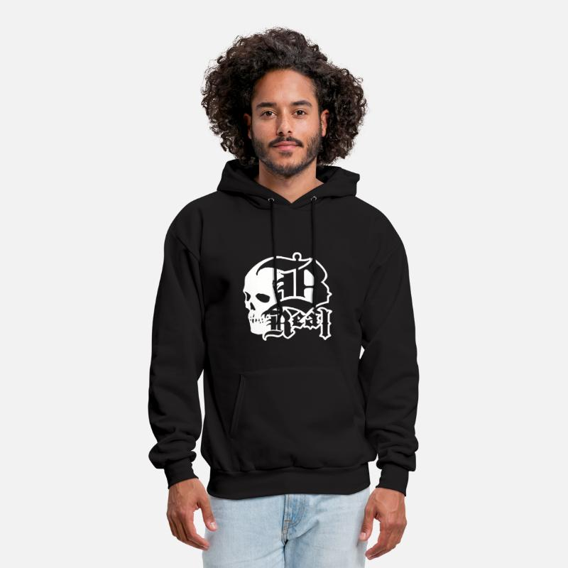 Movie Hoodies & Sweatshirts - B REAL CYPRESS HILL - Men's Hoodie black