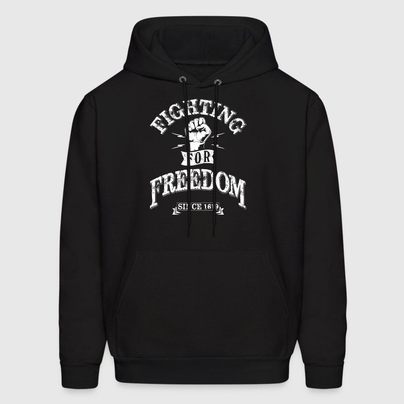 Fighting for Freedom since 1619 - Men's Hoodie