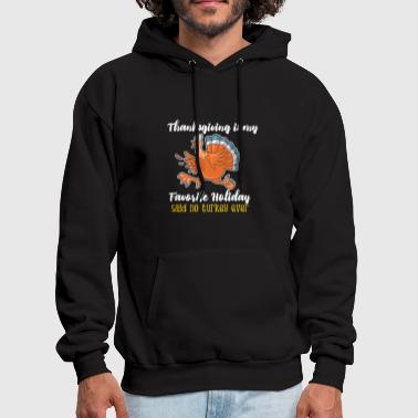 Funny thanksgiving turkey tshirt - Men's Hoodie