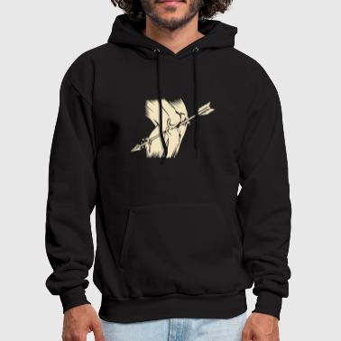 Arrow To The Knee - Men's Hoodie