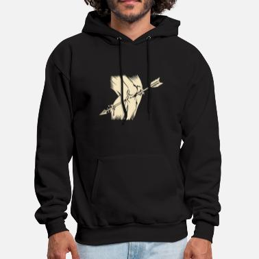 Arrow Arrow To The Knee - Men's Hoodie
