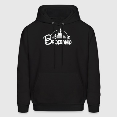 bridesmaid disney - Men's Hoodie