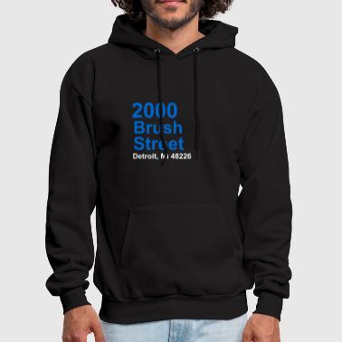 Address DETROIT FOOTBALL ADDRESS - Men's Hoodie