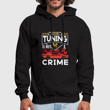 Car Tuning is not a crime - Men's Hoodie