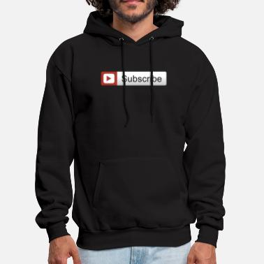 Youtuber YOUTUBE SUBSCRIBE - Men's Hoodie