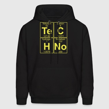 TECHNO PERIODIC TABLE - Men's Hoodie
