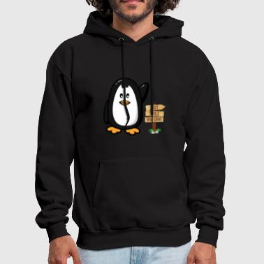 Reclusive Funny Awkward Gift Just Smile And Wave - Men's Hoodie