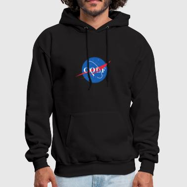 Golf Space Logo Design - Men's Hoodie