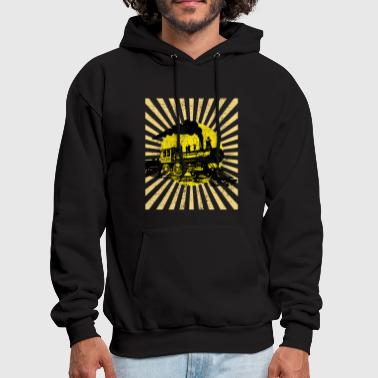 Locomotive Steam locomotive - Men's Hoodie