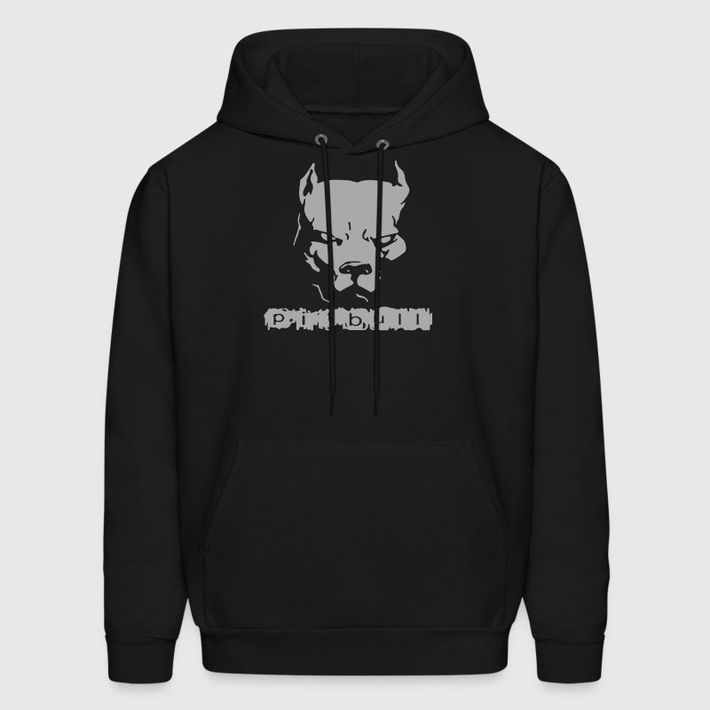 Pitbull American Pit Bull Spiked Dog Collar - Men's Hoodie