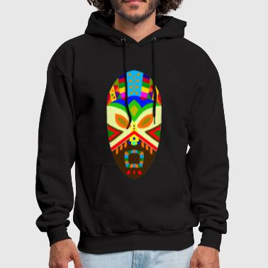 Traditional African Mask - Men's Hoodie