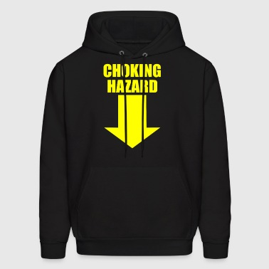 HAZARD CHOKING - Men's Hoodie