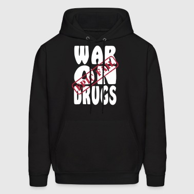 War on Drugs Epic Fail - Men's Hoodie
