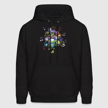 Music in the air - Men's Hoodie