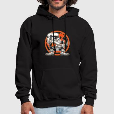 FIGHTING IN THE SANDS - Men's Hoodie
