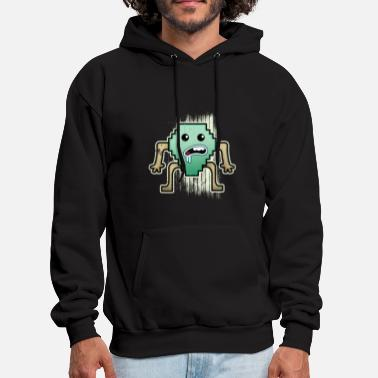 Pixelated Pixel - Men's Hoodie