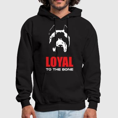 Loyal to the Bone - Men's Hoodie