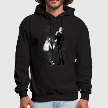 Slender Man and Jeff - Men's Hoodie