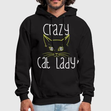 Crazy Cat Lady Funny Cute Fashion Ladies Fit Women - Men's Hoodie