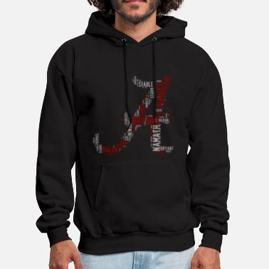 Crimson All Time Alabama Football Greats A Design Men's Or - Men's Hoodie