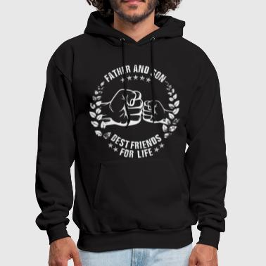 FATHER AND SON BEST FRIENDS FOR LIFE - Men's Hoodie