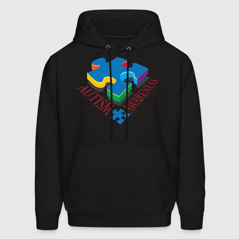 Autism Awareness Puzzle Piece - Men's Hoodie