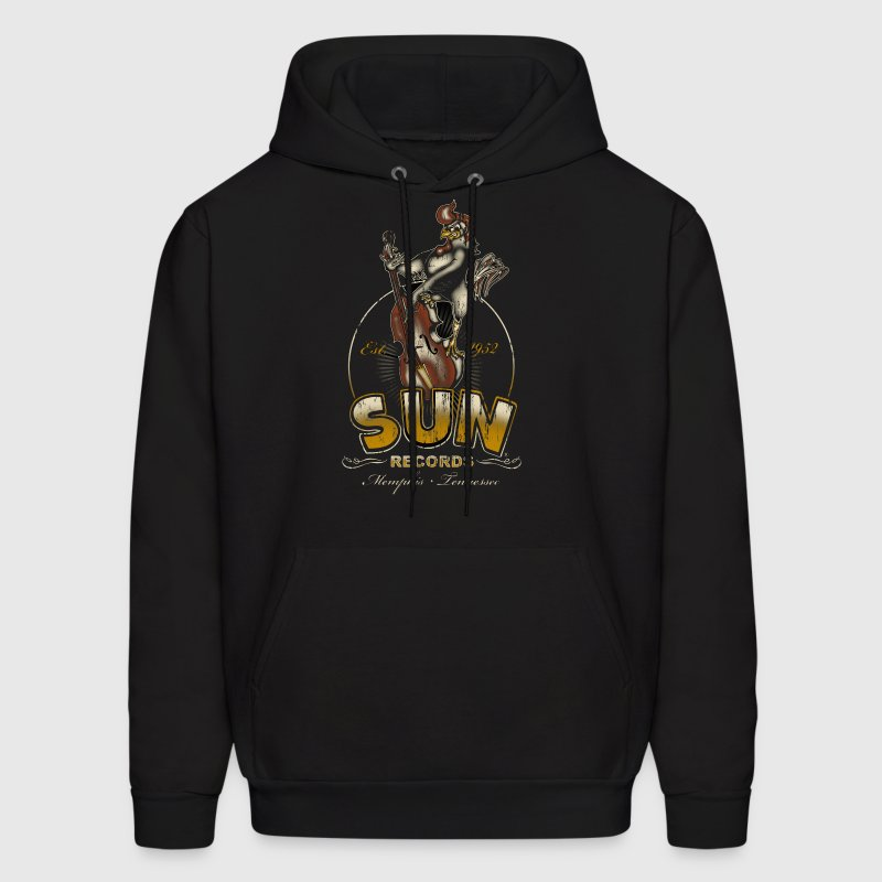 Sun Records Steady Roosterbilly - Men's Hoodie