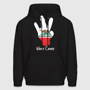West Coast Cali - Men's Hoodie