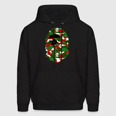 A Bathing Ape Camo Big Ape Head 2016 - Men's Hoodie