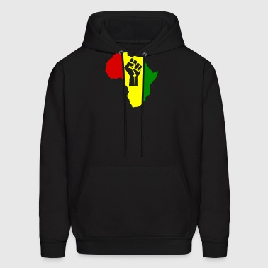 Africa Power Rasta Reggae music - Men's Hoodie