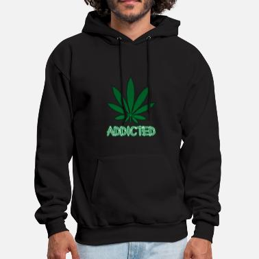 Addicted Addicted.png - Men's Hoodie