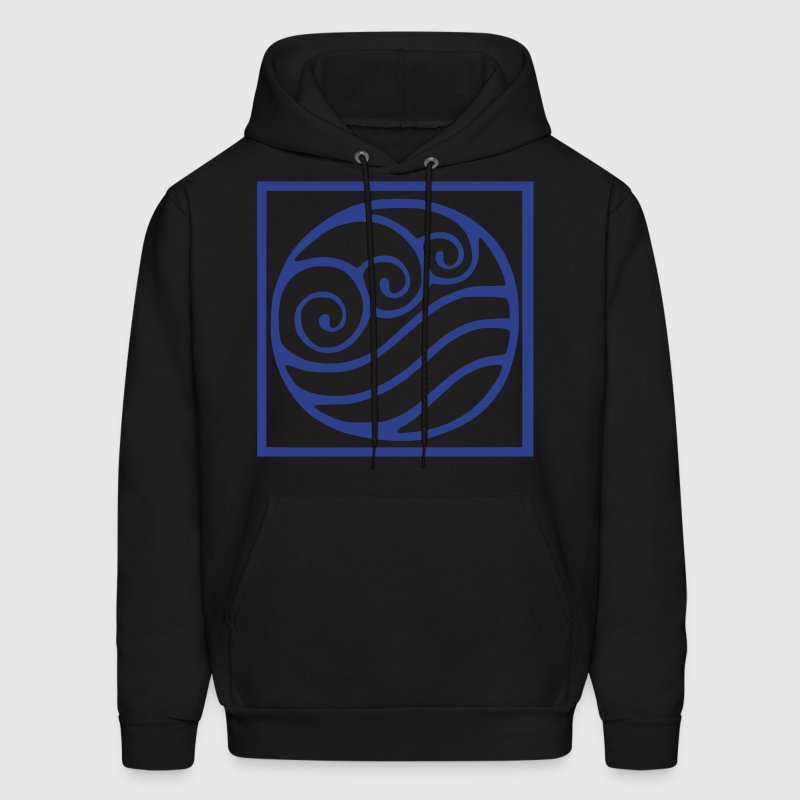 The waterbending symbol - Men's Hoodie