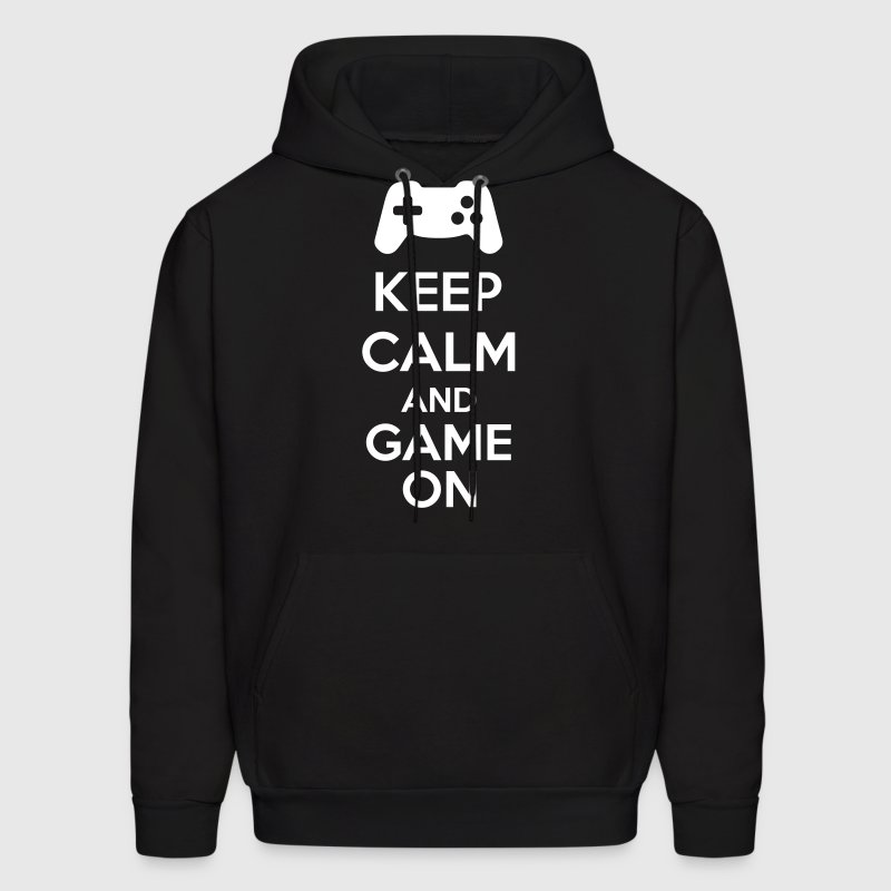 Keep Calm And Game On - Men's Hoodie