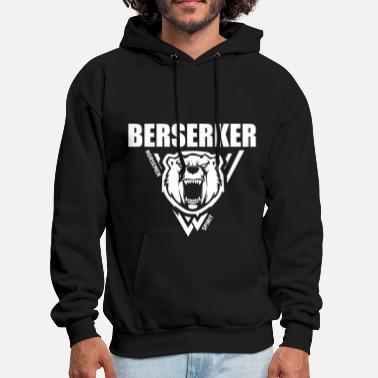 Viking Berserker Vikings White - Men's Hoodie
