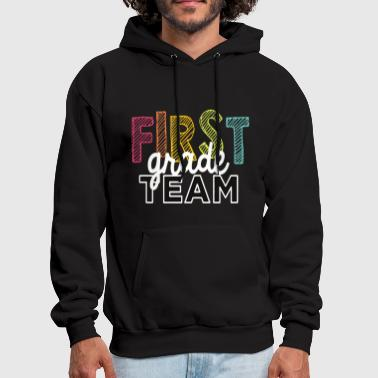 First Grade Team Shirt Back To School 2017 - Men's Hoodie